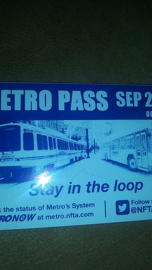Bus pass for Sale in Buffalo, NY