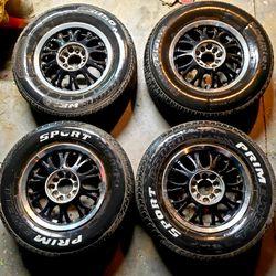 14 Black Multi Spoke Mesh Wheels for Sale in Chino,  CA
