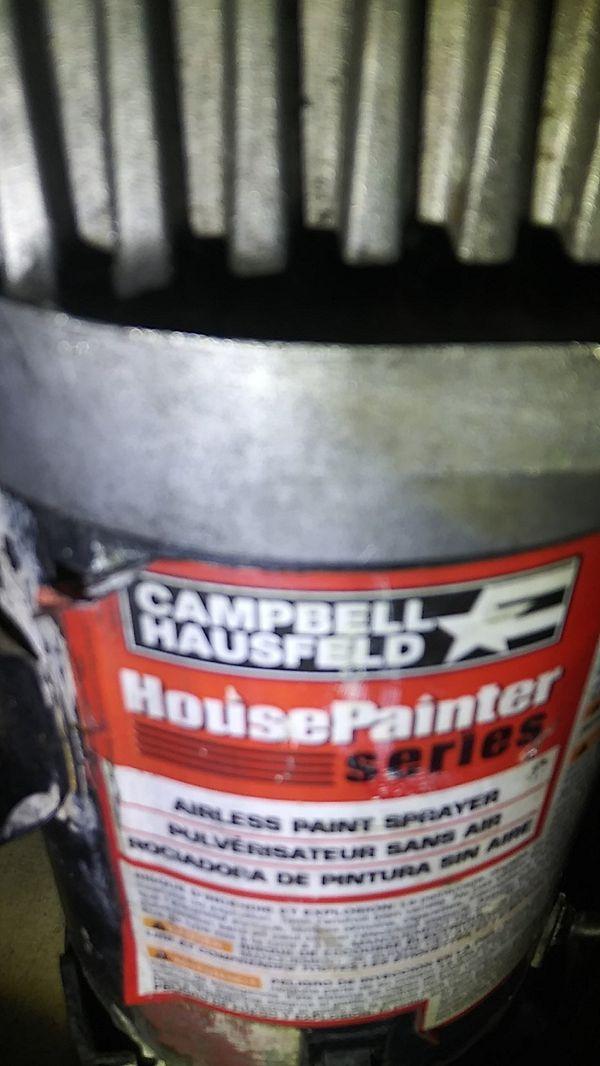Campbell housfeld series airless paint sprayer