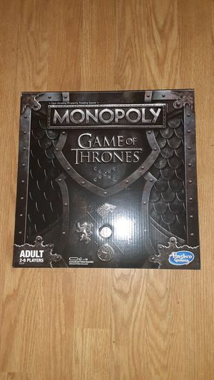 Monopoly game of thrones for Sale in Victoria, TX