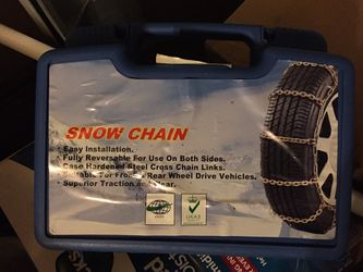 Snow Chains Never Used for Sale in Bremerton,  WA