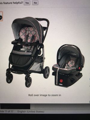 Graco Modes travel system, Francesca for Sale in Redmond, WA