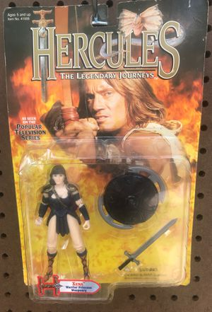 Hercules action figure Xena for Sale in Lake Wales, FL