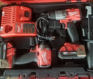 MILWAUKEE M18 FUEL HAMMER DRILL/IMPACT SET ASKING $250 for Sale in Weslaco, TX