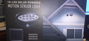 Solar motion sensor light for Sale in Chattanooga, TN