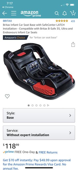 Britax infant Car Base - 3 available for Sale in Riverside, IL