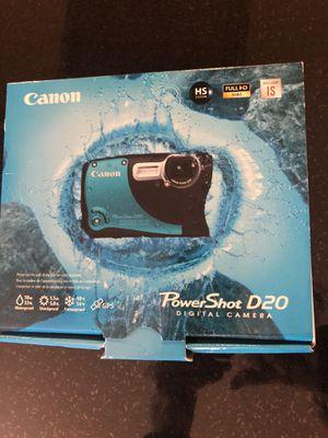 Digital Camera - waterproof for Sale in Sumner, WA