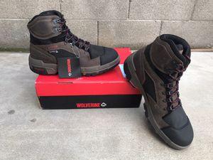Wolverine Men's Legend Waterproof 6'' Work Boots - Composite Toe - Brown Size 12(W) for Sale in Phoenix, AZ