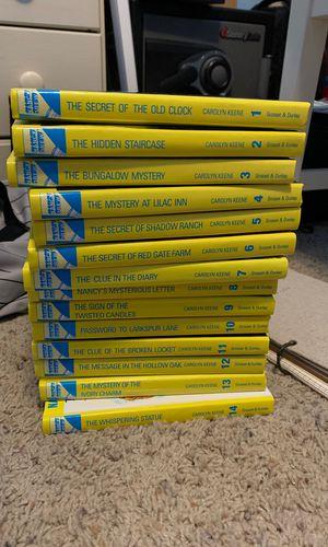 Nancy Drew book lot 1-14 for Sale in San Angelo, TX