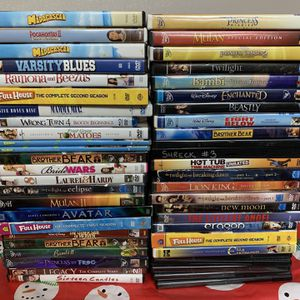 FREE DVD's - Mostly Kids and Disney for Sale in Allen Park, MI