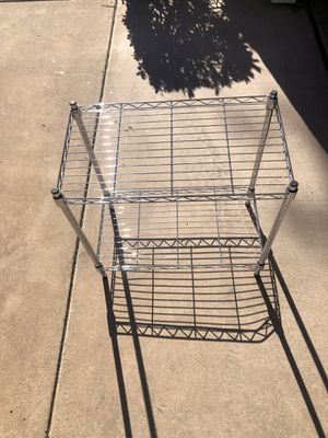 2x metal storage shelves for Sale in Santee, CA