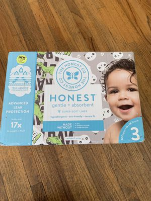 Honest diapers size 3 new for Sale in Temple City, CA