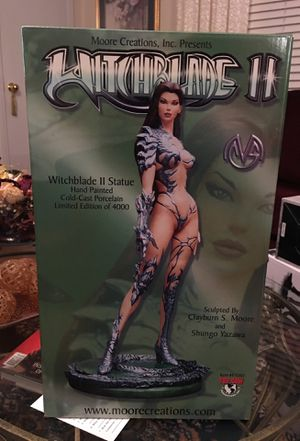 Witch blade 2 statue for Sale in Winston-Salem, NC