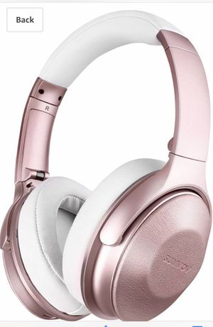 Wireless Headphones Over Ear, Bluetooth Headphones 5.0 with Mic, Quick Charge, 30 Hours Playtime, Deep Bass, Protein Earpads, Hi-Fi Stereo Foldable H for Sale in San Diego, CA