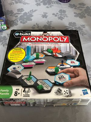 Monopoly u-build kids game for Sale in West Bloomfield Township, MI