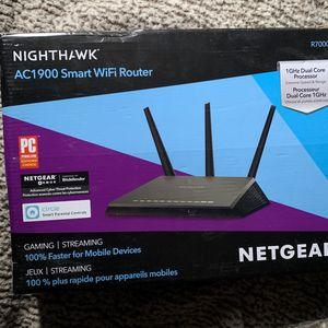Netgear Nighthawk Smart WiFi Router for Sale in North Las Vegas, NV