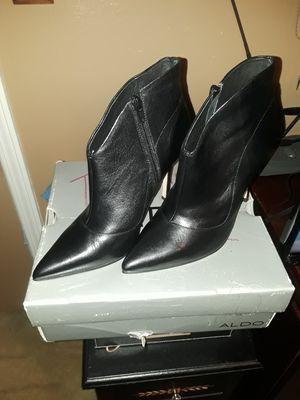 ALDO black leather ankle boot for Sale in Decatur, GA