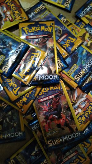 48 packs of Pokemon Sun and Moon for Sale in Norfolk, VA