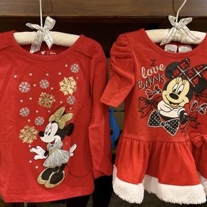 Christmas Toddler Girl 2T Tops - Both For $12 for Sale in Phoenix, AZ