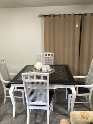 Wooden Table and Chairs for Sale in Phoenix, AZ