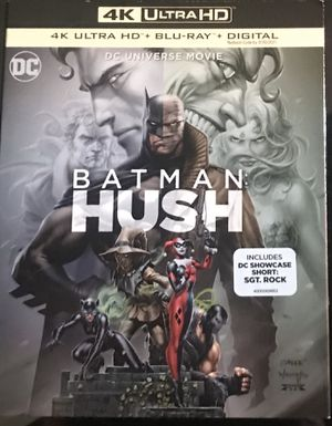 Batman Hush 4K + Blu-ray for Sale in Wadsworth, OH