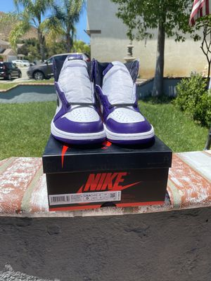 Air Jordan 1 ' Court Purple' size 9 for Sale in Fontana, CA