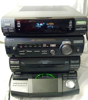 Sony LBT-D390 HCD-D390 Tuner Dual Cassette 5 Disc CD System for Sale in Burien, WA