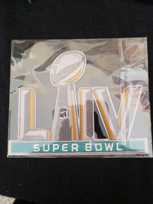 49ers vs Chiefs super bowl patch for Sale in Fresno, CA