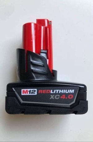 Milwaukee BATTERY M12 Red Lithium XC 4.0. Batería Nueva for Sale in Los Angeles, CA