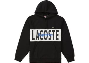 Supreme Lacoste logo panel hoodie for Sale in Spring, TX