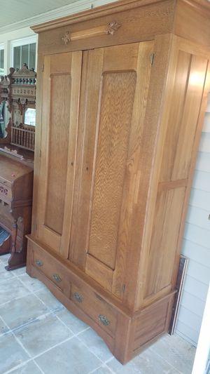 Antique Knockdown Cabinet for Sale in Lancaster, OH