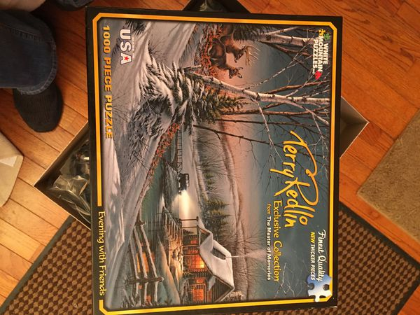 Terry Redlin 1000 piece puzzle