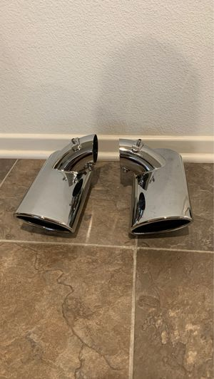 Exhaust Tail Pipe Tip Set URO Parts W211 Exhaust 2006 Mercedes Benz for Sale in Winchester, CA
