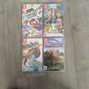 (Cases Only) Nintendo Switch Game Cases. for Sale in Sun City, AZ