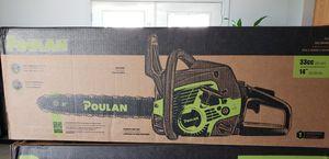 Poulan Gas Chainsaw for Sale in Glendale, AZ