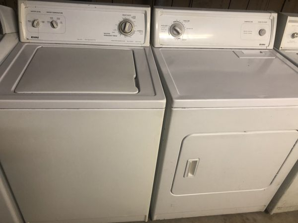 Kenmore washer and gas dryer both work not new