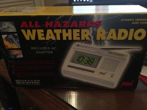 Weather radio all hazards for Sale in Grosse Pointe Farms, MI