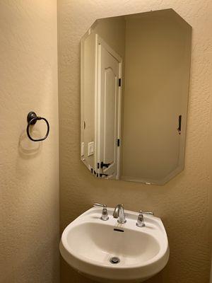 Bathroom mirror and pedestal for Sale in Goodyear, AZ