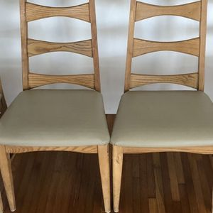 Vintage 1950s High Back chairs (4) for Sale in Miami, FL