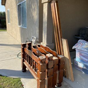 Wood Twin Beds OBO for Sale in Fowler, CA