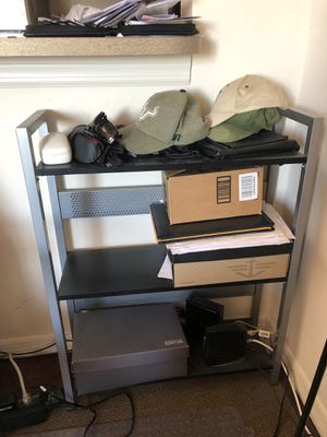 Metal/wood storage shelving for Sale in Tampa, FL