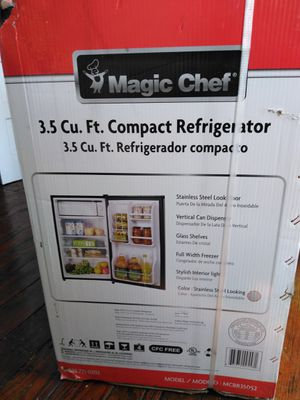 Magic Chef Compact Refrigerator 3.5 Cu Ft. Brand-new never opened for Sale in Lancaster, PA