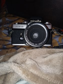 1979 Minolta Camera in excellent condition. Mase in Japan with original camera bag for Sale in College Park,  GA