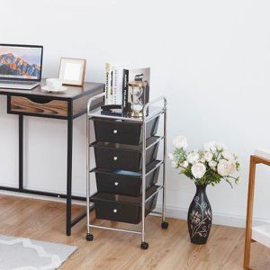 Brand New 4 Drawer Metal Rolling Storage Cart for Sale in Los Angeles, CA