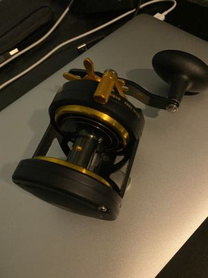 Beach fishing Penn conventional reel rod combo for Sale in Orlando, FL