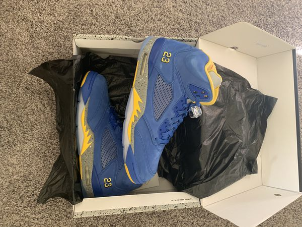 Jordan Retro 5 Laney size 10.5 -Brand New