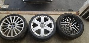 2 wheel/rim package for Sale in Raynham, MA