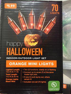 Orange Lights 7 boxes for Sale in Azle, TX
