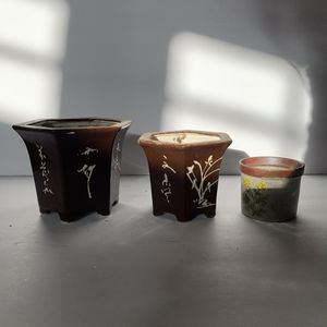 3 Ceramic planters for Sale in Las Vegas, NV