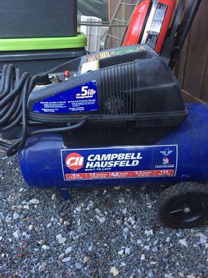Cambell & Hausfeld Air compressor for Sale in Millsboro, DE